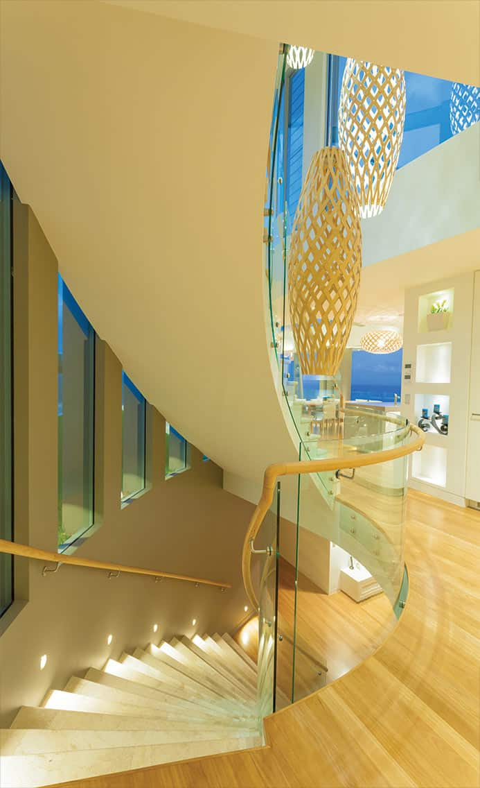 Seaview House Designed By Parsonson Architects: Chris Clout Design