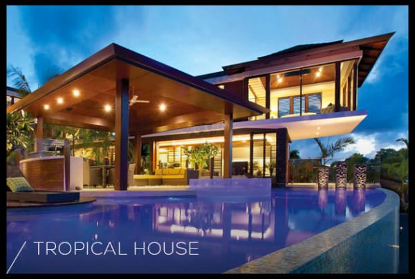Design Modern Tropical House Bali House Design And Decorating Ideas