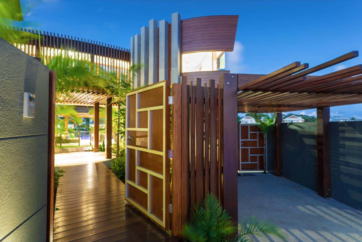 Modern Tropical House Design Moreover Modern Tropical House Design On