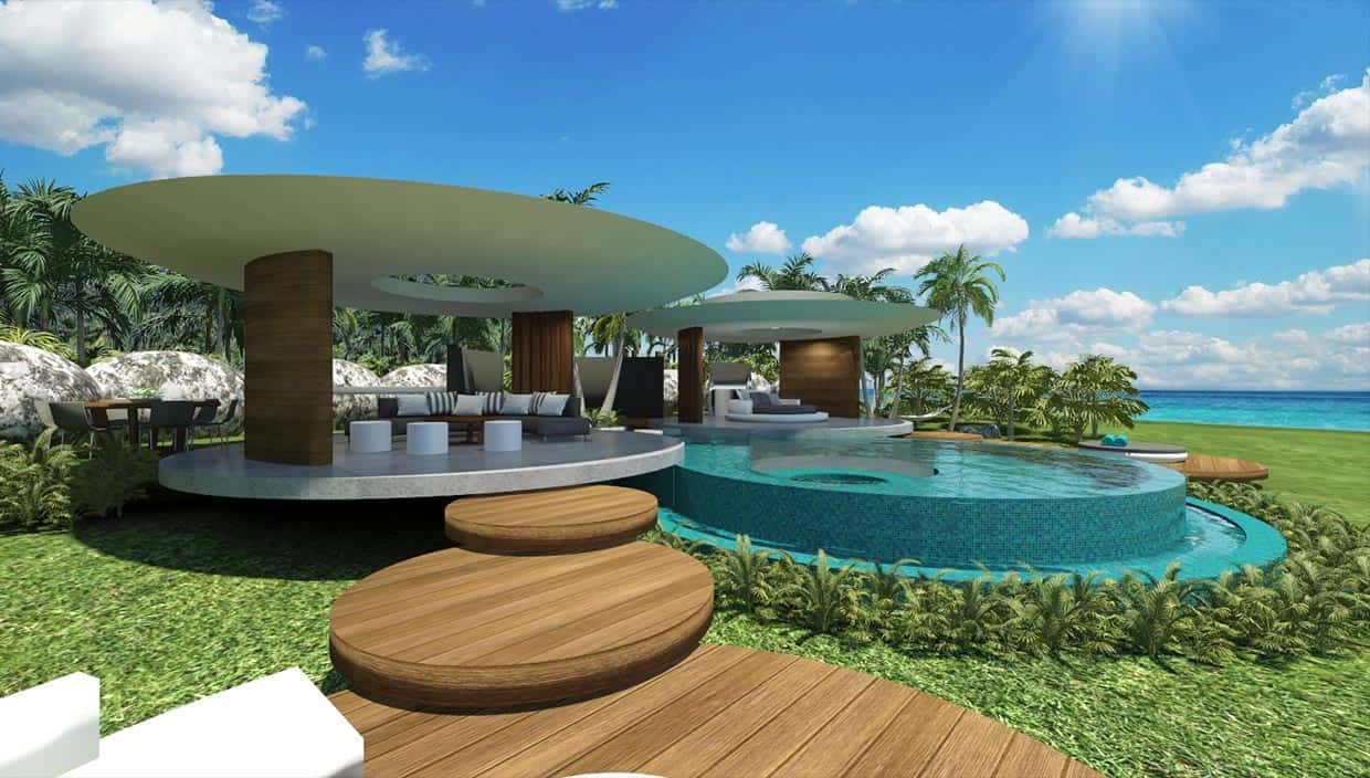 Tahiti Villa Chris Clout Design