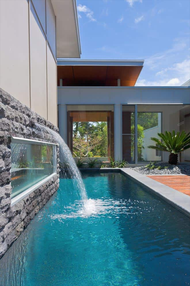 Waterfall House Chris Clout Design