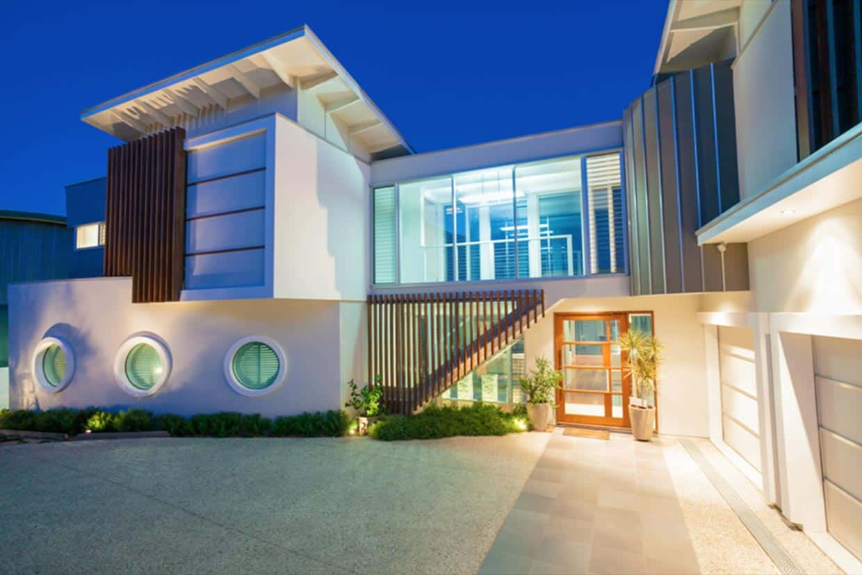 Whangaparaoa house chris clout design for Beach house designs sunshine coast
