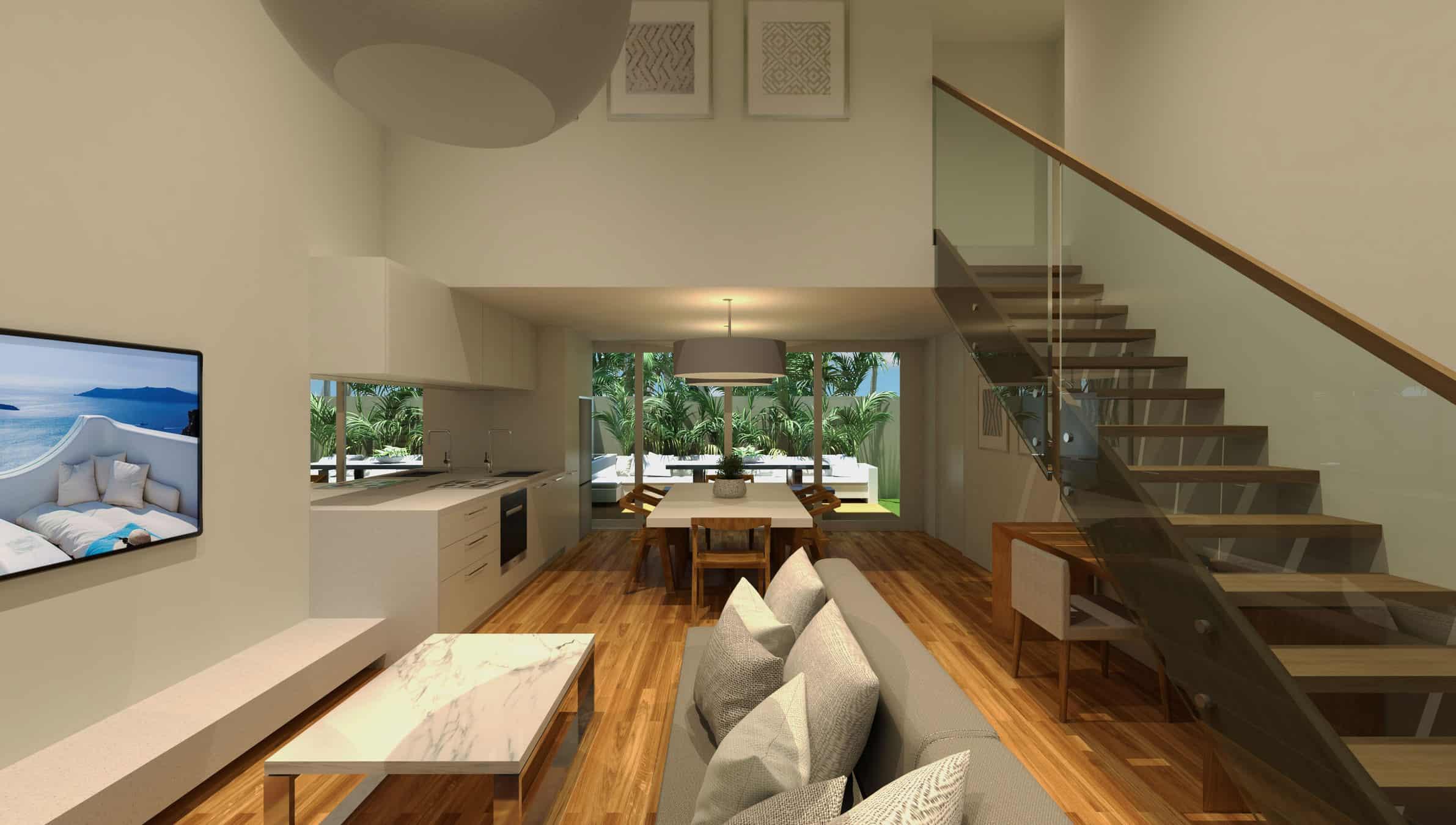 byron beach villas chris clout design