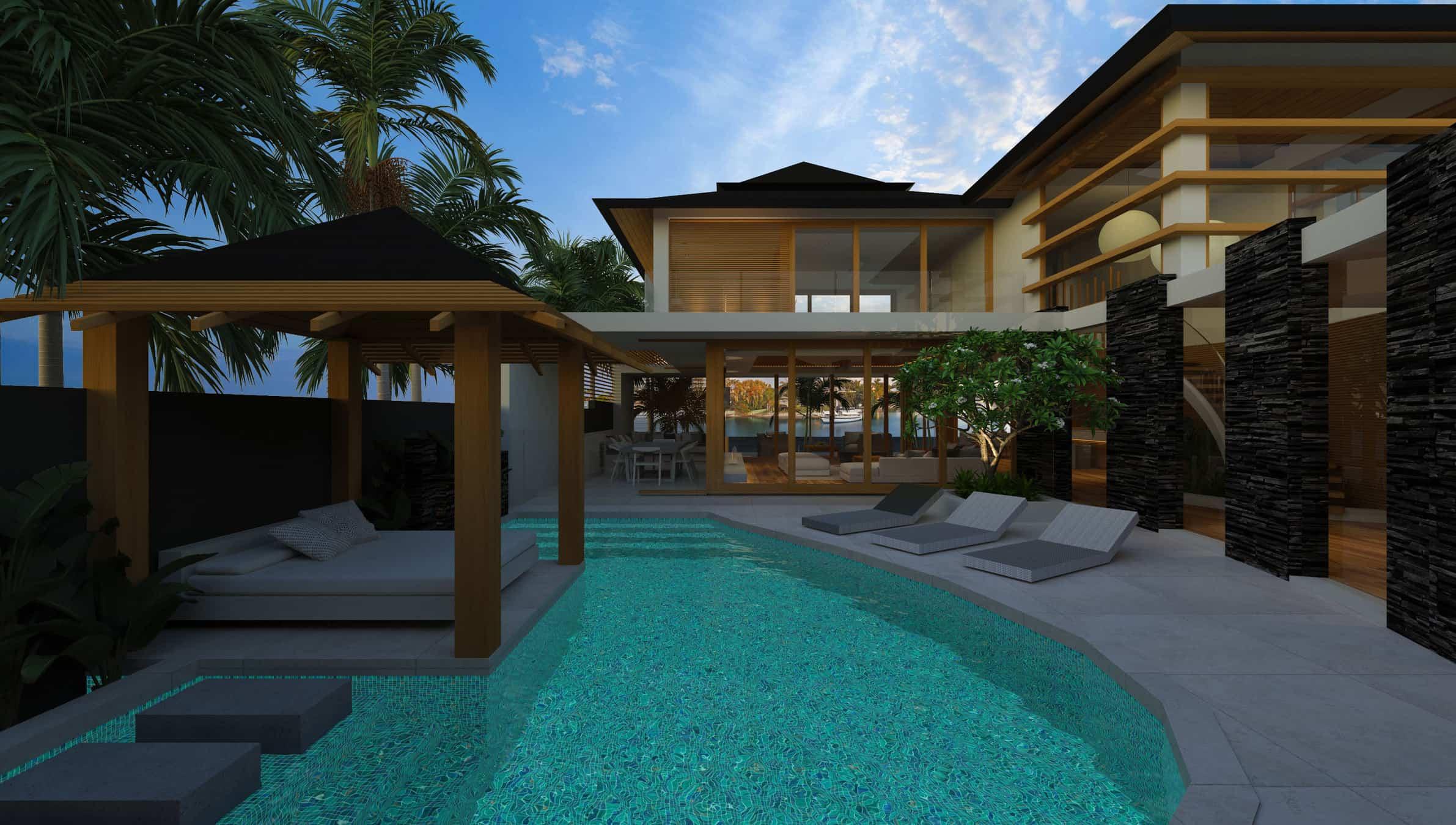 Home Renovation Design Online South Pacific House Chris Clout Design