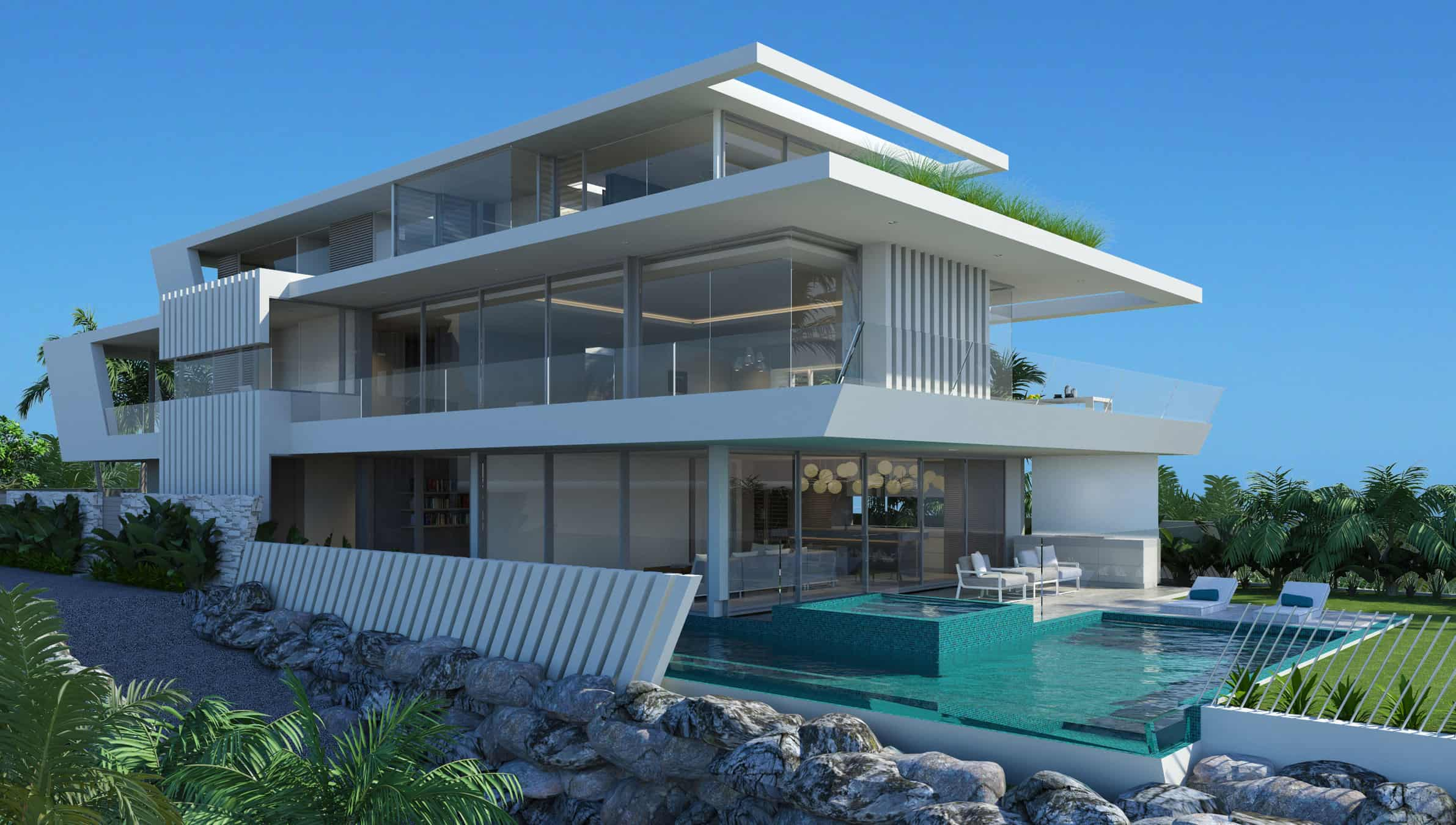 Curl curl house chris clout design for Beach house designs south coast nsw