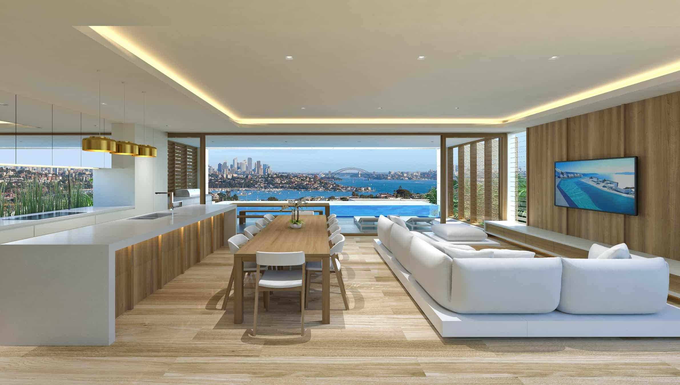 SYDNEY HARBOUR HOUSE | Chris Clout Design